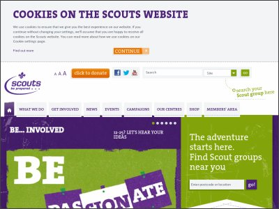 http://scouts.org.uk